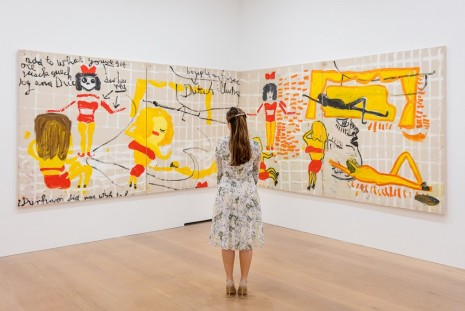 Rose Wylie David Zwirner
