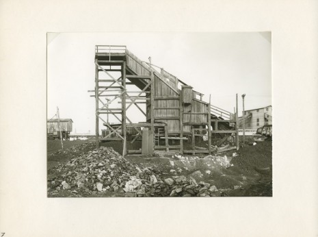 Bernd and Hilla Becher , 7. Slope, Beaver Brook Hazleton PA.; Anthracite, 1974  , Paula Cooper Gallery
