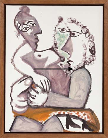 Pablo Picasso, Embrace Mougins, 2 July 1971, Almine Rech Gallery