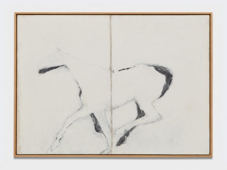 Susan Rothenberg, August, 1976 , Almine Rech Gallery