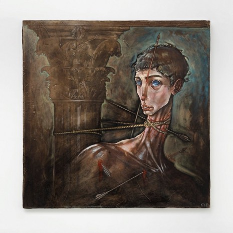 Kye Christensen-Knowles, Saint Sebastian, 2018, Galleri Nicolai Wallner