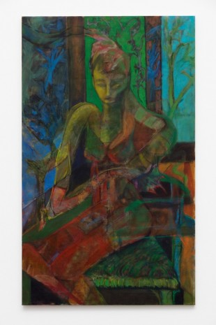 Jankel Alter, Green Woman, 2016 - 2018, Galleri Nicolai Wallner