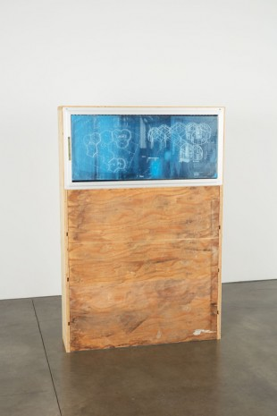 Oscar Tuazon, Blueprint Window (LAWS), 2018, Luhring Augustine