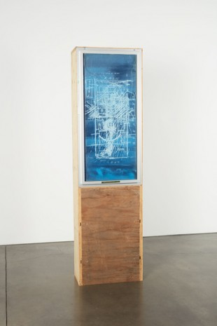 Oscar Tuazon, Library Window (LAWS), 2018, Luhring Augustine