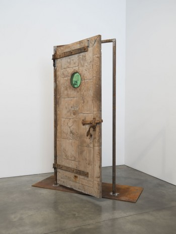 Oscar Tuazon, Fire Door, 2018 , Luhring Augustine
