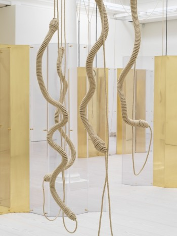 Leonor Antunes, alterated knot 3, 2018 , Marian Goodman Gallery