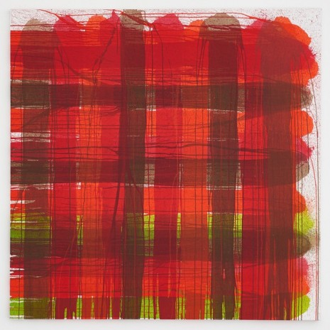 AA Bronson, Plaid #10 (In Collaboration with Keith Boadwee), 2015 , Esther Schipper