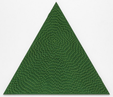 Jennifer Guidi, The Priestess (Green and Light Green MT, Green Sand SF #1T, Green Ground), 2018 , Gagosian