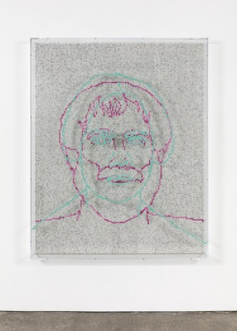 Charles Gaines, Faces 1: Identity Politics, #2, Maria K Stewart, 2018 , Paula Cooper Gallery