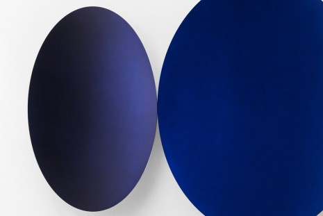 Anish Kapoor, Two Blues (Glisten), 2018 , Galleria Continua