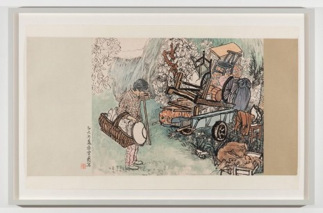 Yun-Fei Ji, The Family Belongings, 2011 , James Cohan Gallery