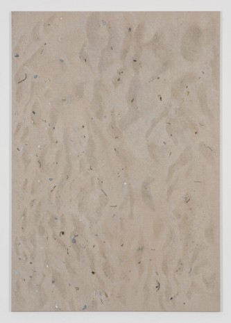 Helene Appel, Sand Painting 1, 2018 , James Cohan Gallery