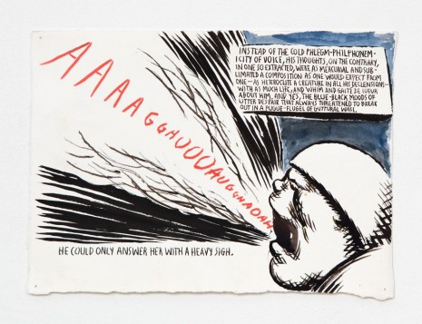 Raymond Pettibon, No Title (Instead of the...), 2000, Contemporary Fine Arts - CFA
