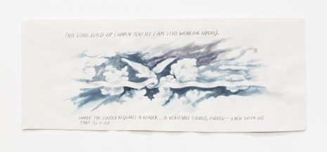 Raymond Pettibon, No title (This long build-up...), 1997    , Contemporary Fine Arts - CFA