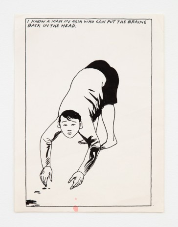 Raymond Pettibon, No Title (I know a...), 1985 , Contemporary Fine Arts - CFA