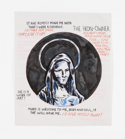 Raymond Pettibon, No Title (It has almost...), 1989 - 1993 , Contemporary Fine Arts - CFA