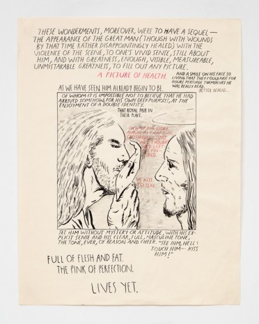 Raymond Pettibon, No Title (These wonderments, moreover...), 1991 , Contemporary Fine Arts - CFA