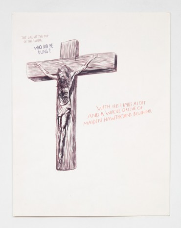 Raymond Pettibon, No Title (The lad at...), 1991 , Contemporary Fine Arts - CFA