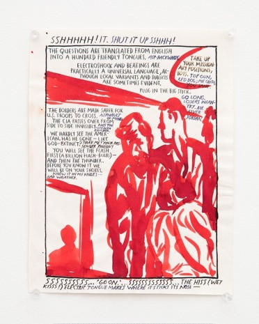 Raymond Pettibon, No Title (Sshhhhh! It...), 1989 , Contemporary Fine Arts - CFA