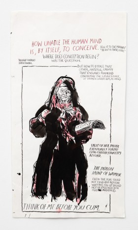 Raymond Pettibon, No Title (How unable the...), 2000 , Contemporary Fine Arts - CFA