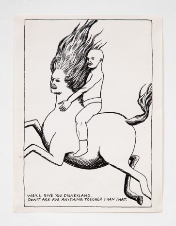 Raymond Pettibon, No Title (We'll give you...), 1985 , Contemporary Fine Arts - CFA