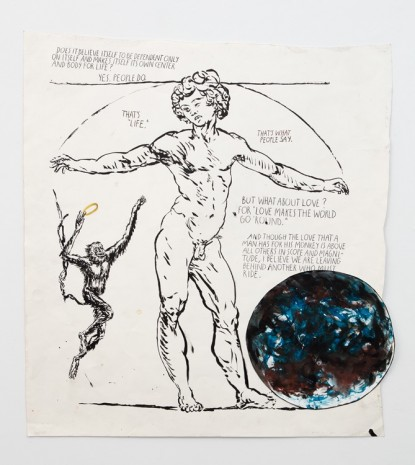Raymond Pettibon, No Title (Does it believe...), 2003 , Contemporary Fine Arts - CFA
