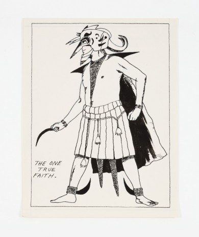 Raymond Pettibon, No Title (The one true...), 1982, Contemporary Fine Arts - CFA