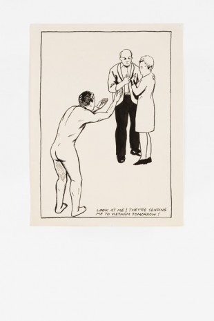 Raymond Pettibon, No Title (Look at me!), 1985 , Contemporary Fine Arts - CFA