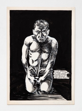Raymond Pettibon, No Title (Little Johnny's scream...), 1982 , Contemporary Fine Arts - CFA