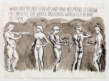 Raymond Pettibon, No Title (When they are...), 2014 , Contemporary Fine Arts - CFA