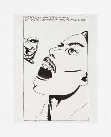 Raymond Pettibon, No Title (Open every door...), 1985 , Contemporary Fine Arts - CFA