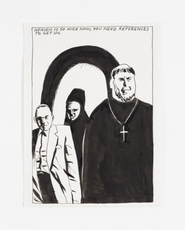 Raymond Pettibon, No Title (Heaven is so...), 1986 , Contemporary Fine Arts - CFA