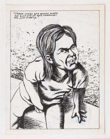 Raymond Pettibon, No Title (These crabs are...), 1982 , Contemporary Fine Arts - CFA