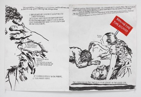 Raymond Pettibon, No Title (I tried to...), 2015, Contemporary Fine Arts - CFA