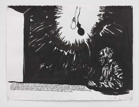 Raymond Pettibon, No Title (The idea came...), 2015, Contemporary Fine Arts - CFA