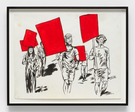 Raymond Pettibon, No Title, 2015 , Contemporary Fine Arts - CFA