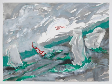 Raymond Pettibon, No Title (An offcolor joke...), 2015 , Contemporary Fine Arts - CFA