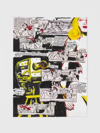 Raymond Pettibon, No Title (Zapruder wasn't yr...), 2016 , Contemporary Fine Arts - CFA