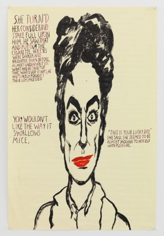 Raymond Pettibon, No Title (She turn'd her...), 2014, Contemporary Fine Arts - CFA