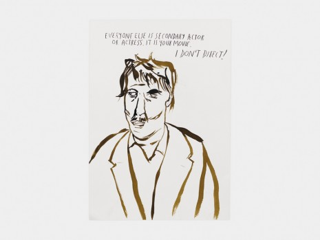 Raymond Pettibon, No Title (Everyone else is...), 2017 , Contemporary Fine Arts - CFA