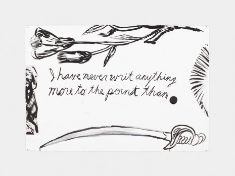 Raymond Pettibon, No Title (I have never...), 2017, Contemporary Fine Arts - CFA