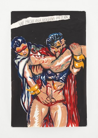 Raymond Pettibon, No Title (We froze in...), 2014 , Contemporary Fine Arts - CFA