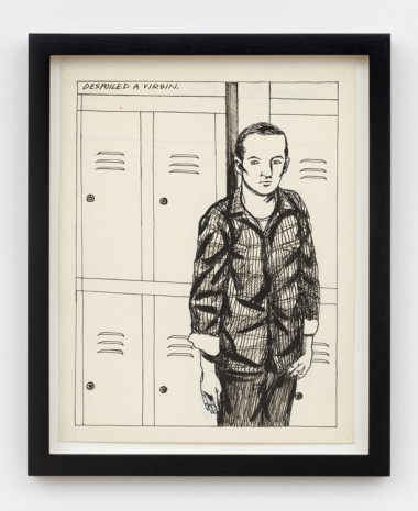 Raymond Pettibon, No Title (Despoiled a virgin), 1982 , Contemporary Fine Arts - CFA