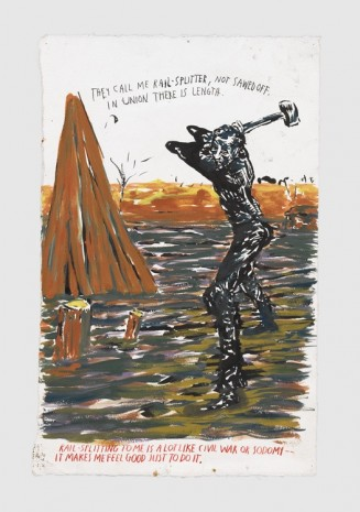 Raymond Pettibon, No Title (They Call Me...), 2017 , Contemporary Fine Arts - CFA