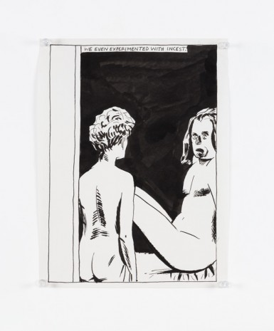 Raymond Pettibon, No Title (We even experimented...), 1985, Contemporary Fine Arts - CFA