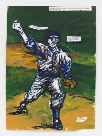 Raymond Pettibon, No Title (And when they...), 2018 , Contemporary Fine Arts - CFA