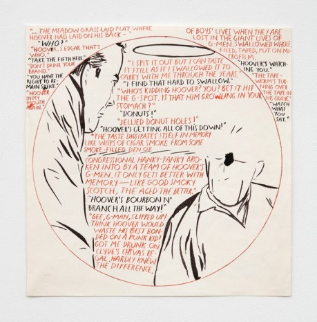 Raymond Pettibon, No Title (The meadow grass...), 1991 , Contemporary Fine Arts - CFA