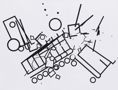 Bart Stolle, Explosion at the Supermarket, 2012, Zeno X Gallery