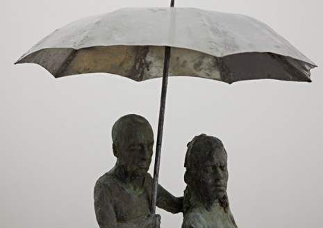 Heike Kabisch, Under the umbrella (detail), 2012, ChertLüdde
