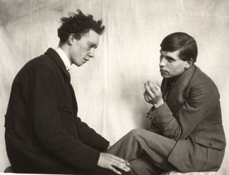August Sander, Boheme [Willi Bongard, Gottfried Brockmann] (Bohemians [Willi Bongard, Gottfried Brockmann]), 1922 – 1925 (printed 1972) , Hauser & Wirth